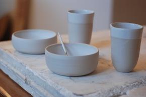 Tasses et bols - grès porcelainique